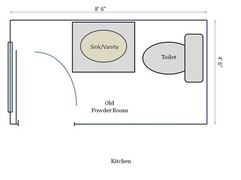 powder room floor plans powder room renovation hometocottage