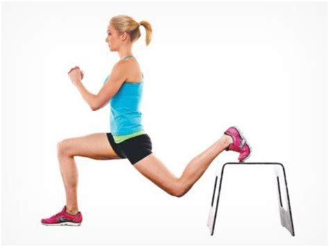 bench lunge 3 minute butt routine the 3 glute exercises you should be doing fit tip daily