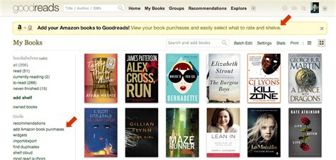 Goodreads Shelf by Goodreads Expands Automatic Sync To Include The Uk