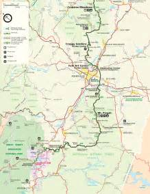 map of the blue ridge parkway www f f info 2017