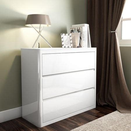 White Gloss Bedroom Furniture Uk White High Gloss 3 Chest Of Drawers Furniture123