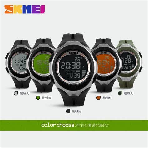 Jam Tangan Wanita Perempuan Tetonis 30m Waterproof skmei pioneer jam tangan digital pria dg1080t black green jakartanotebook
