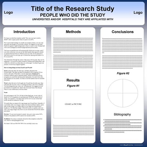 template science poster template