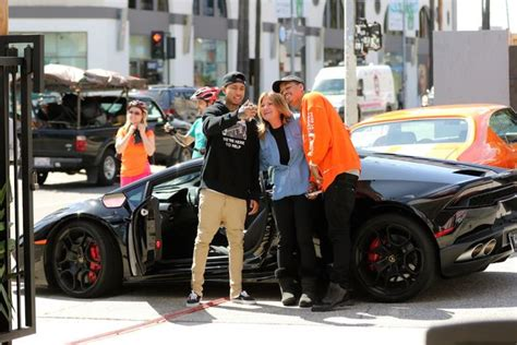 tyga yellow bentley tyga s returned after rapper threatens