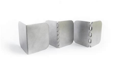 metal laser cutting fold aluminium and steel sheets easily