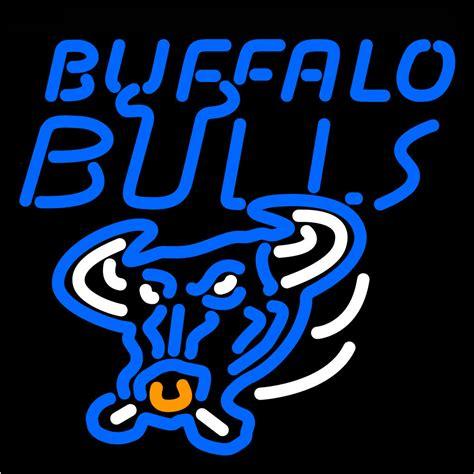 ncaa buffalo bulls logo neon sign neon