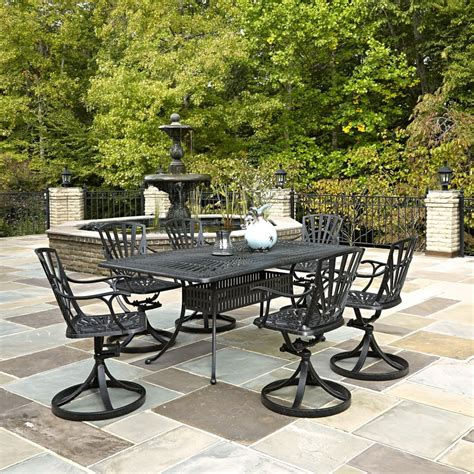 home depot 7 patio set home styles largo 7 patio dining set the home