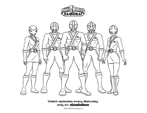 coloring pages of power rangers samurai free gold power ranger coloring pages