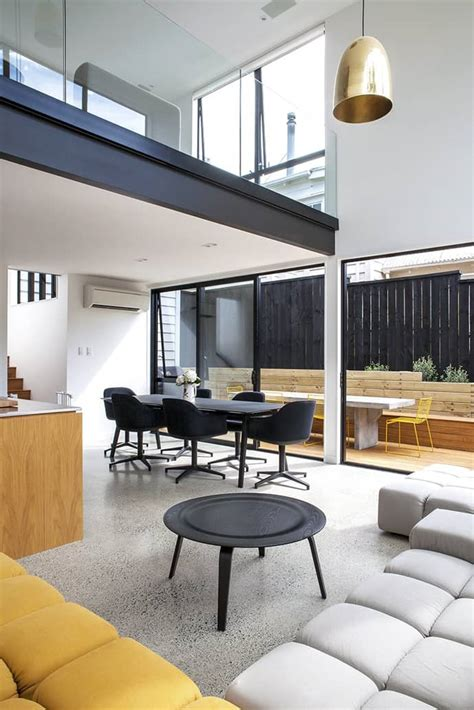 modernist style cube extension sherwood  box living