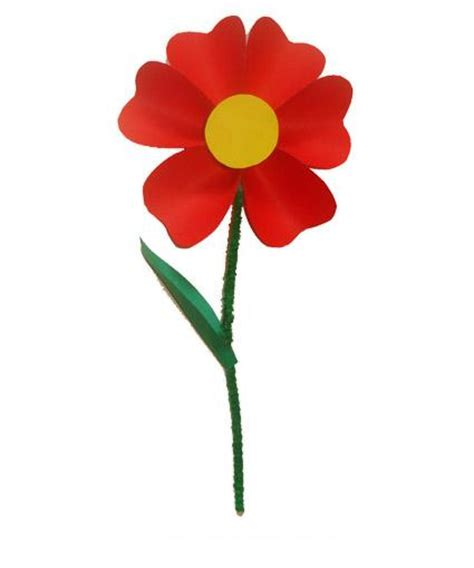 donare un fiore un fiore da regalare bimbi di carta