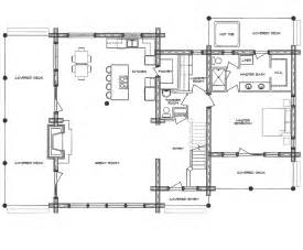 Log Floor Plans Log Home Floor Plan Homestead
