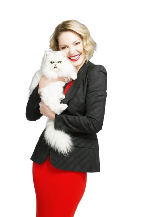 actress in cat s pride commercial cat s pride partners with katherine heigl the jdhf to