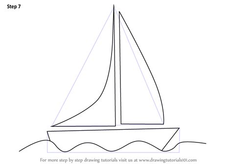 learn how to draw a boat learn how to draw a boat for kids boats and ships step