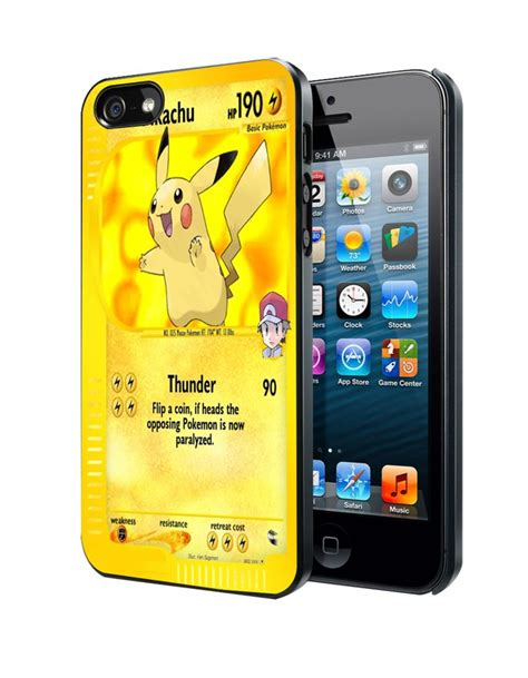 Pikachu C0193 Samsung Galaxy Note 5 Casing Premium Hardcase pikachu card samsung galaxy s3 s4 s5 note 3 iphone 4 5 5c 6 plus ipod 4 5 s4
