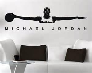Michael Jordan Wall Stickers Michael Jordan Air Jordan Wall Decal Free Shipping