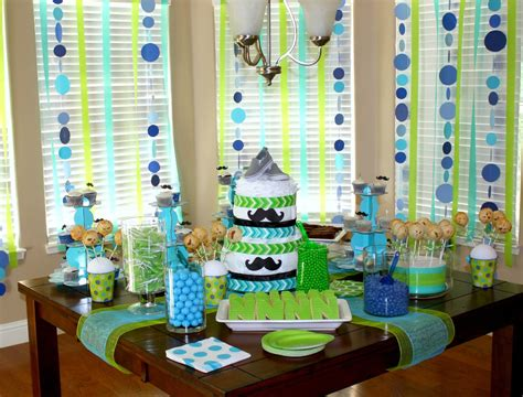 Boy Baby Shower Decoration Ideas by All Things Baby Shower For Nolan
