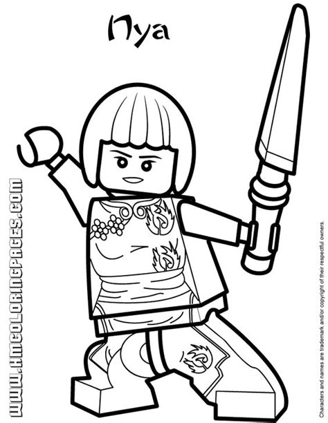 ninjago coloring pages google search all ninjago coloring pages ninjago nya coloring page