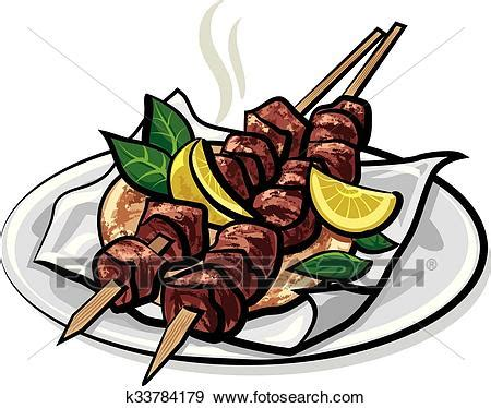 kebab clipart clip of kebabs k33784179 search clipart