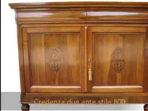 credenze in legno classiche produzione realizzazione su misura credenze madie