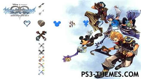 ps3 themes kingdom hearts 2 5 ps3 themes 187 kingdom hearts birth by sleep