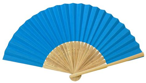 Folding Paper Fan - folding paper fan 8 25 quot aquamarine blue