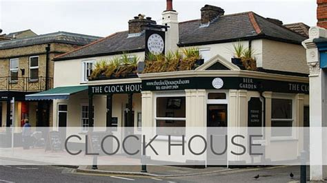 house pronunciation say clock house like the english pronounce it