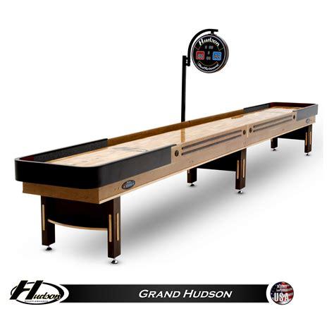 14 Grand Hudson Shuffleboard Table Shuffleboard Net 14 Shuffleboard Table