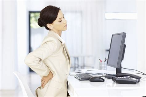 Back From Sitting At Desk by Stretches All Desk Workers Should Do Today