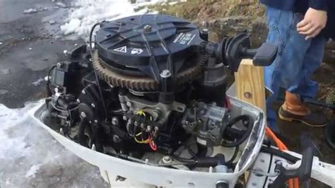 yamaha boat motor will not start how to add electric start to outboard motor youtube