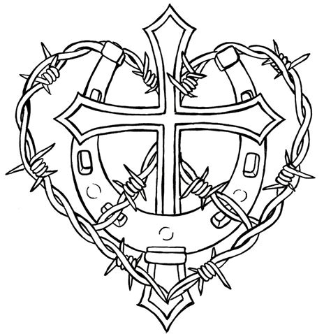 cross with barbed wire tattoo fonts barbed wire tattoos