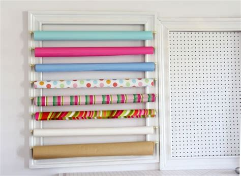 gift wrap wall organizer how to make a gift wrap organizer creative wall 3 in
