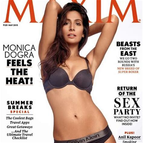 bollywood actress bikini fb monica dogra maxim may 2015 hot bikini photos full set