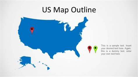 us map template powerpoint us map powerpoint slidemodel