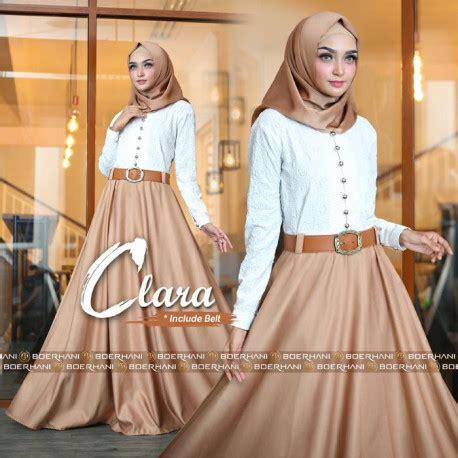 Clara Syari 2 gamis syari cantik model baru arsyila syari vol 2 by ivas pusat busana gaun pesta muslim modern