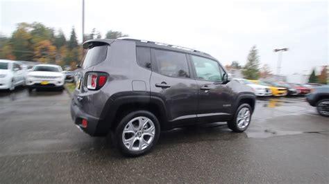 granite jeep renegade 2017 jeep renegade limited 4x4 granite metallic