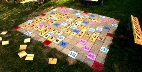 backyard scrabble 20 fun backyard ideas for your home