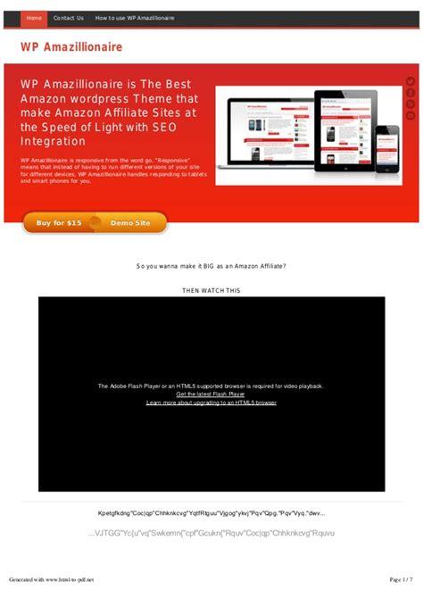 theme wordpress amazon wp amazillionaire is the best amazon wordpress theme