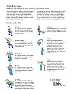 Chair Exercises At Work by Chair Exercise Low Level Effort Great Start Healthaware