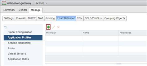 configure basic edge load balancing in vmware nsx virten net