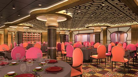 Silks Room by Cruisers Reject Complexity In Dining Royal Caribbean