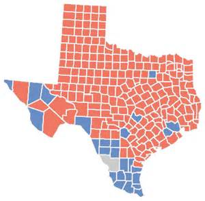 Voting Tx County Map Election 2016 Afputra
