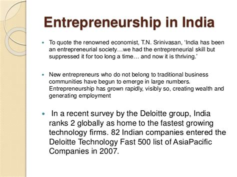 Entrepreneurship Development Pdf For Mba by Entrepreneurship In India And Challenges