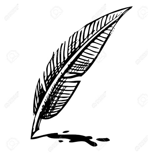 Bc Quill 1 ink bottle and quill clipart 81