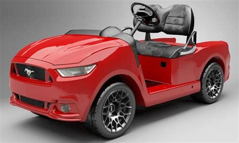 ford mustang lovers   golf cart  arrived