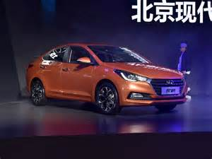 Hyundai Only New Hyundai Verna Revealed In China India Arrival In 2017