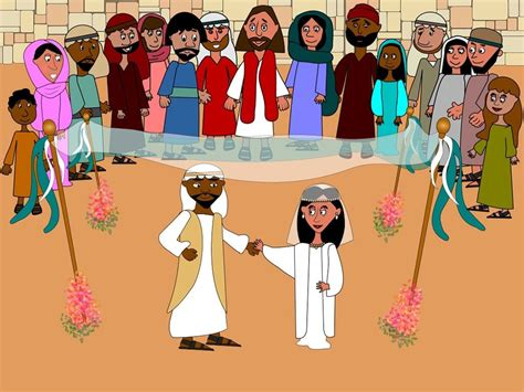 Wedding At Cana Free Clipart by Free Bible Images When The Wine Runs Out At A Wedding