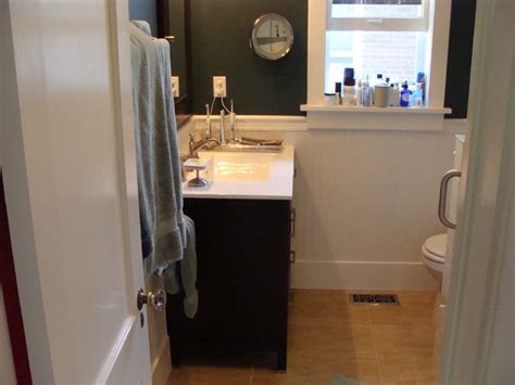 Wainscoting Bathroom Images by Wainscoting In Bathroom Drywall Contractor Talk