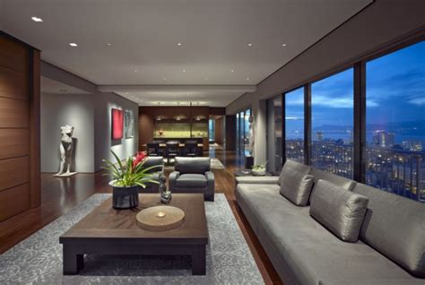 apartment interior designs luxury san francisco apartment interior by zackde vito architecture 171 adelto adelto