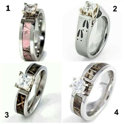 camo rings wedding dresses camo rings