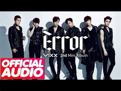 download mp3 album vixx mp3 dl 02 vixx 빅스 error error 2nd mini album youtube